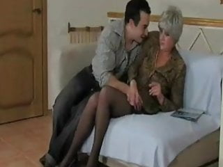 Old woman getting cock 2 Mature old woman in stockings gets fuck