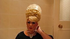 Mommy Super Bouffant and Jumbo Plastic Rain Bonnet