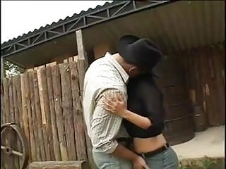 Gay hardcore video download cowboy - Latina needs two cowboys to satisy her dp outdoors bb