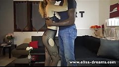 Making Love with a Black guy in front of hubby