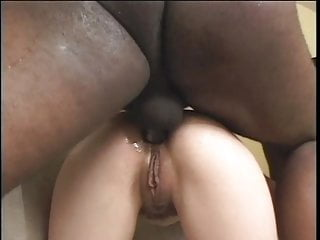 Giant dick anal sex tape Young white brunette craves giant black interracial dick to give her anal sex
