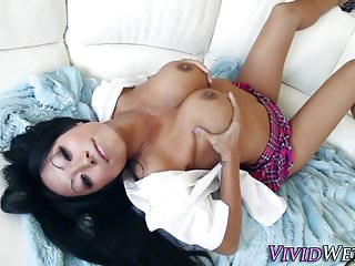 Vivid asian angels xxx Face spermed asian fuck