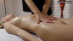 Lizka Gerenda hot Russian pussy massage