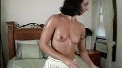 Babe gets sybian Orgasms 1