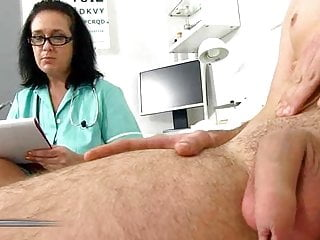 Cfnm cock measuring Penis measuring 01