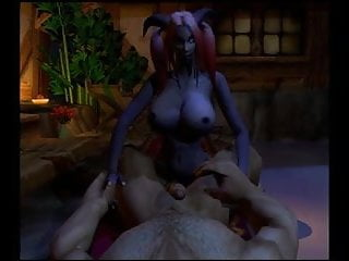 Warcraft nude comic - Warcraft draenei futa fucking a human male