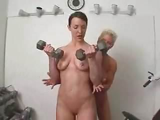 Redhead workout nude - Nude workout