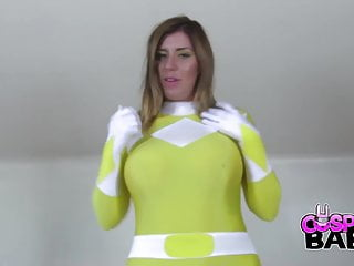 Keyra ass powered by vbulletin Cosplaybabes yellow power ranger with big tits