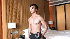 Athletic College Jock With Muscle And Juicy Cock