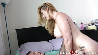 Hot Curvy Wife Surprises Hubby By Fucking A Younger Guy