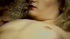 Leslie Winston, Melanie Scott, Peter North in vintage porn