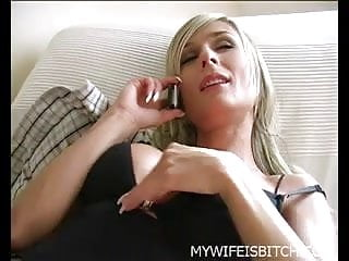 Kinky wife thumbs Kinky wife at home