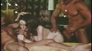 vintage 70s brunette movie, extreme sex