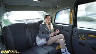 Fake Taxi Spanish Babe Big Tits Macarena Lewis POV Blowjob