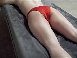 Mens nylon bikini Having fun with mens panties , mens lingerie
