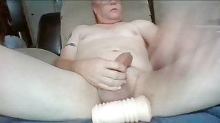 Big Cock Daddy Masturebating