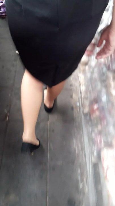 Thai sexy legs Bangkok shoes09