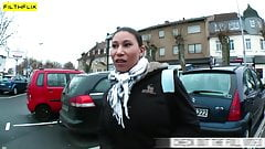 Horny Slut Gets Picked Up On The Street