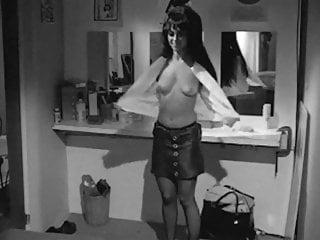 Womens vintage 60s clothing - Go-go venus - vintage 60s hairy striptease dancer