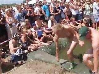 Steamy naked coeds Naked danish college run roskilde festival