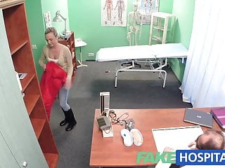 Doctors love cock - Fakehospital hot blonde loves the doctors muscle