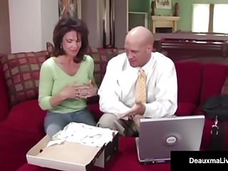 Hardcore free video sex utube - Naughty wife deauxma gets free advice for sex from tax man
