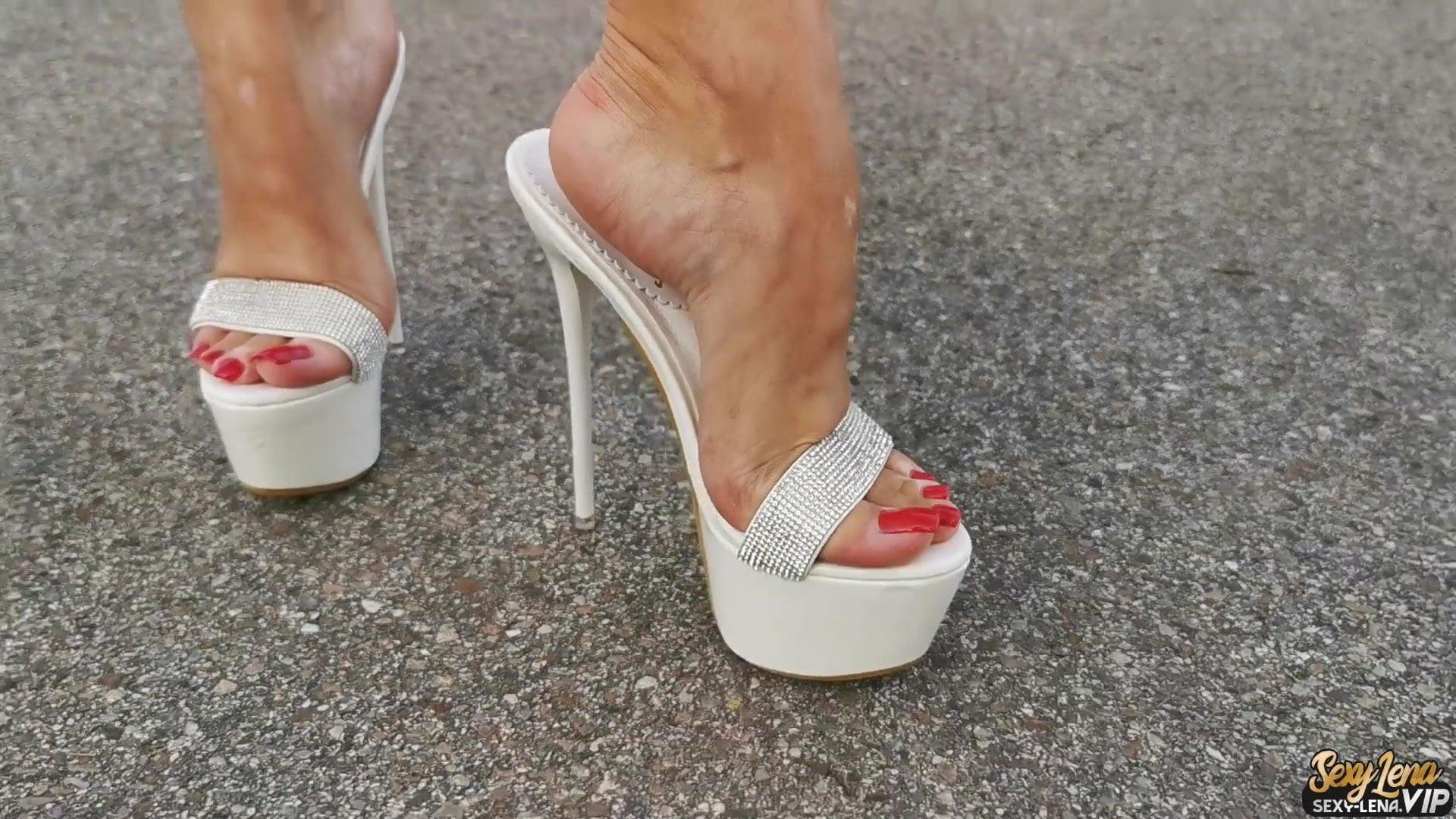 Chinese High Heel Trample