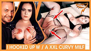 Curvy AnastasiaXXX FUCKS blind date in hotel! WOLF WAGNER