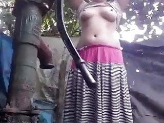 Elite sex worker in nepal Nepal girl bathing