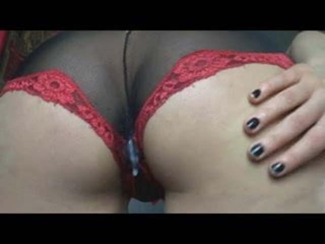 Anal Creampie Panties HD