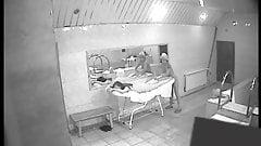 Massage at sauna