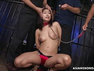Raci pornstar Racy brunette, yayoi yanagida is deepthroating balls deep an