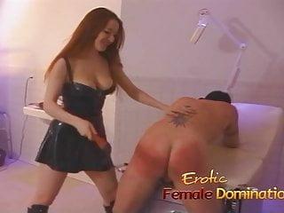 Sexy girls dominatrix - Sexy redhead dominatrix puts felix through some painful