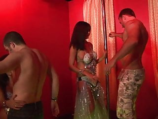 Big boob strippers tube - Big boobs strippers get pounded hardcore in a group sex