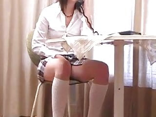 Diapered spanked by step-sister Step-sister spanked