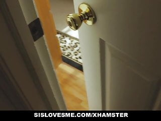 Sister teasing porn Sislovesme - not step-sister teased with cock