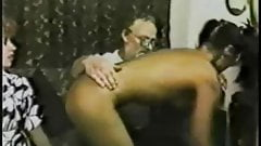 British Spanking from the 1980s with Solange Hop