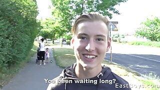 EastBoys POV vol 6 - First Blowjob - Casper Ivarsson