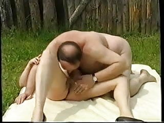 Oldies and sex Oldies outdoor orgy