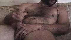 Hot Hairy Daddy Cums
