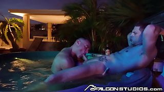 FalconStudios - Roman Todd's Ass Eaten Before Fucked Raw