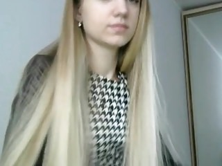 Cute long teen hairstyles - Fantastic blonde hairstyle and hairplay, long hair, hair