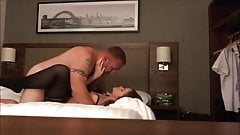 Hot cheating wife on real homemade