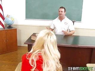 Gay dingbat font Innocenthigh blonde student erica fontes classroom teen puss