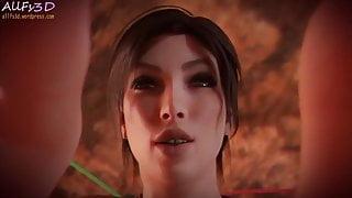Lara Croft Fetish Massage