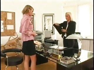 New lesbian licking My new lesbian secretary