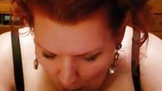 SSBBW Redhead fingered & fucked (POV)