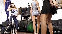 Some Leon Lambert Girls are Preparing for a Big Striptease