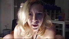 Slutty mistress with best jerk off instruction ever