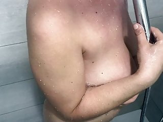 Young bisex in the shower - How bisex wife taking a shower